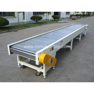 Customized Slat Top Plastic Chain Conveyor For Sale
